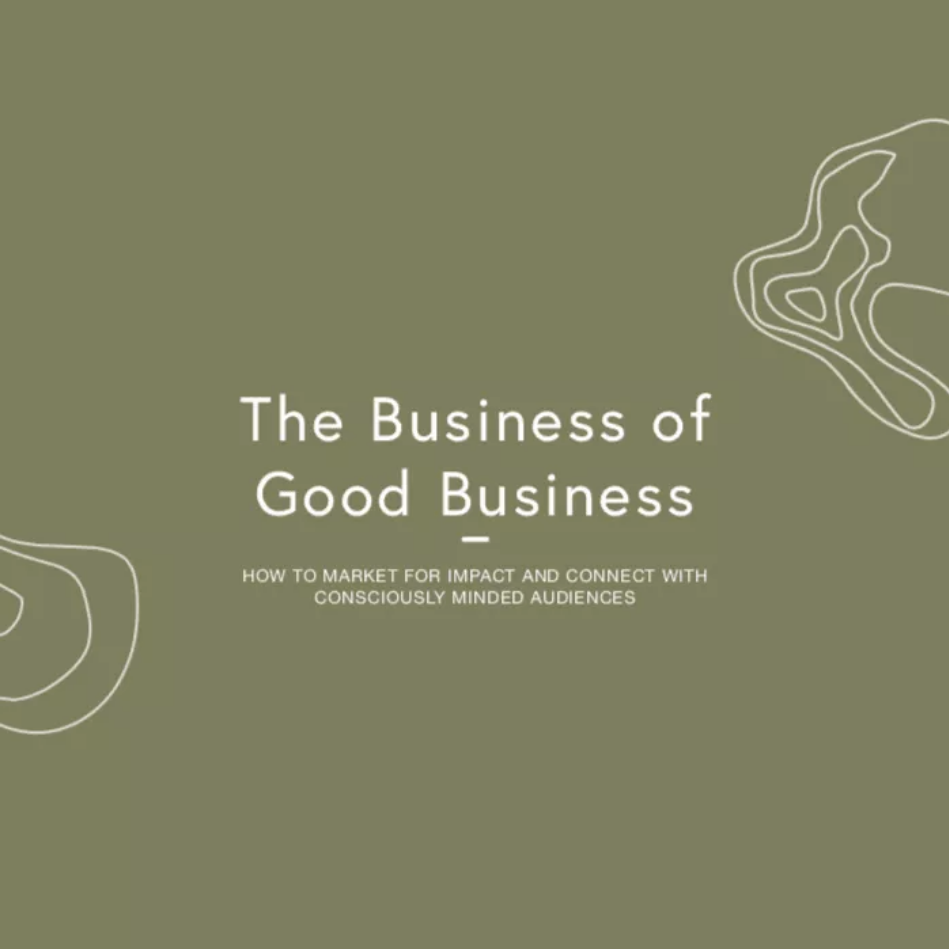 the busines of good business